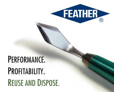 Feather Ophthalmic Scalpels